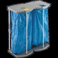 Müllsackhalterungen