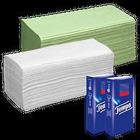 Papierhandtücher & Taschentücher